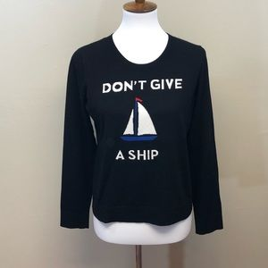 "MILLY ""Don't Give A Ship"" Sweater"